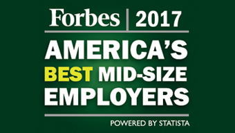 Forbes 2017 says Royal Farms are america's best mid size employers