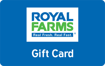 Royal Farms Gift Cards.
