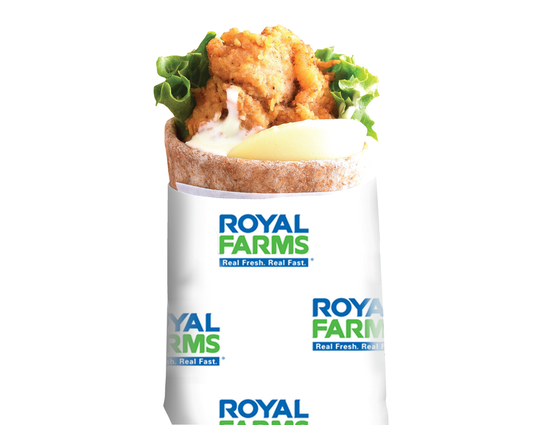 Royal Farms Ranch Snack Wraps