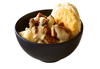 Sausage and Biscuit Gravy Bowl