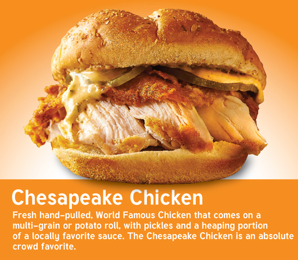 NEW Chesapeake Chicken Sandwich.