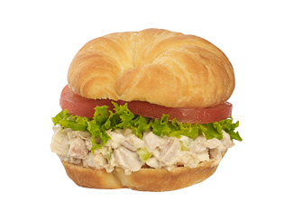 Home Style Chicken Salad Sandwich.