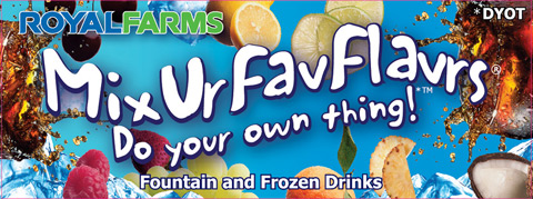 Mix Your Flavors - Fountain and Frozen Drinks.