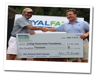 Photo 3 of Royal Farms charitable giving.