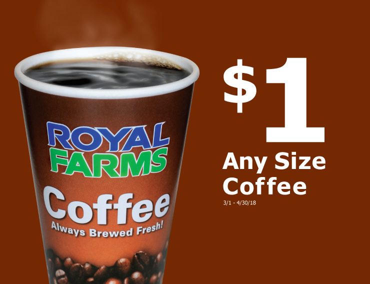 Any Size Coffee