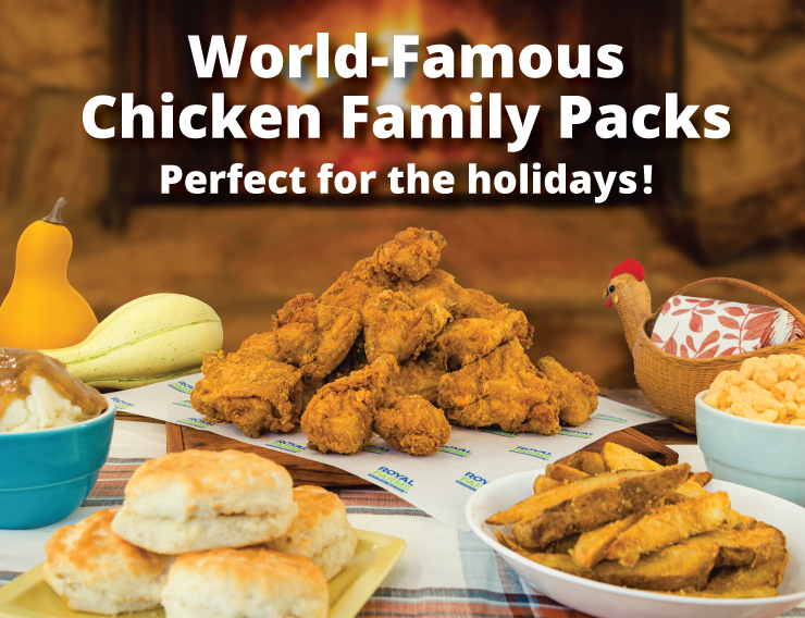 World Famous Chicken Family Packs