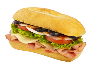 Italian Cold Cut Sandwiches and Subs.